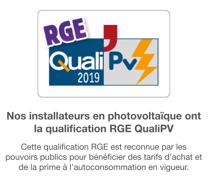Installateur QualiPV 2019
